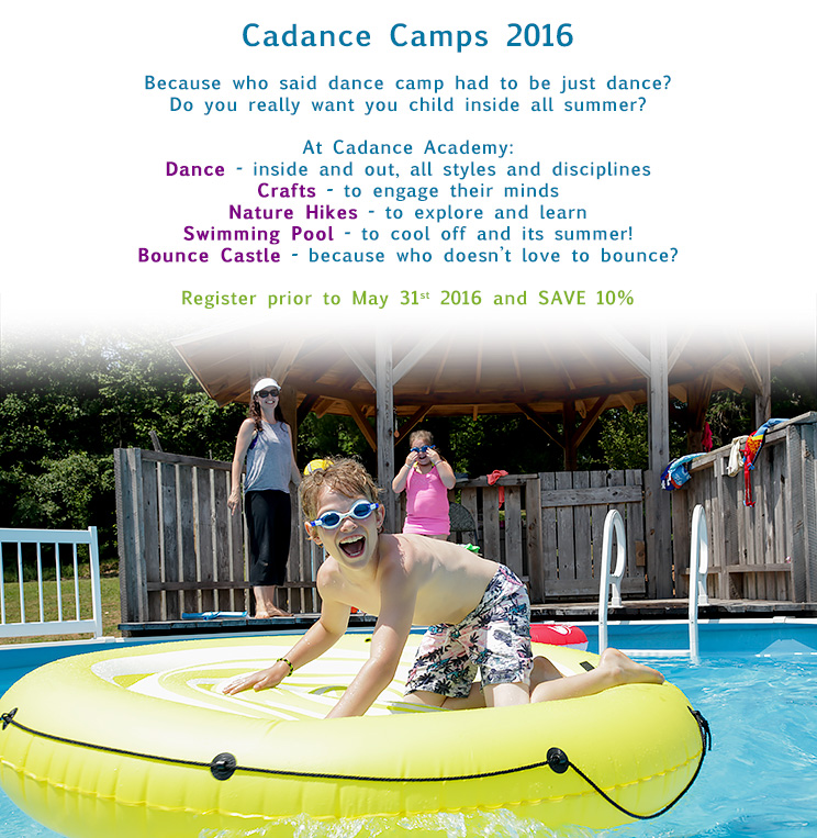 2016 CaDANCE Camps!